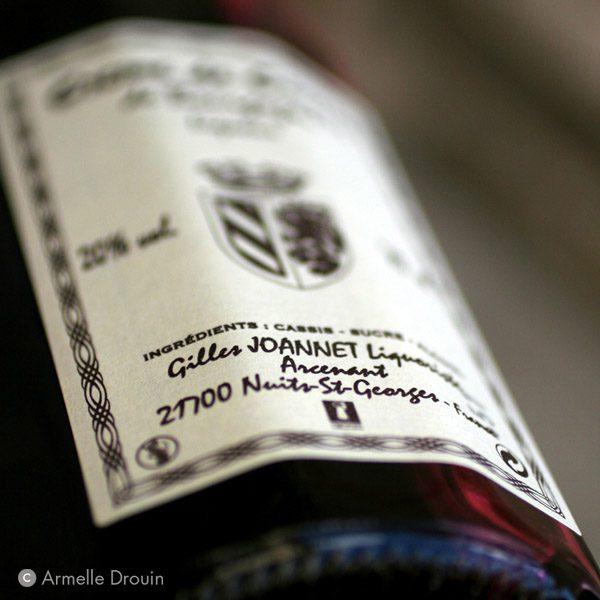 Gilles Joannet<br>Liqueurs de Bourgogne