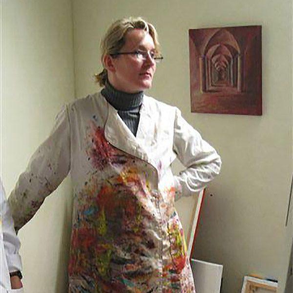 Joëlle  Rougeol Barrault  <br> Peintre abstrait